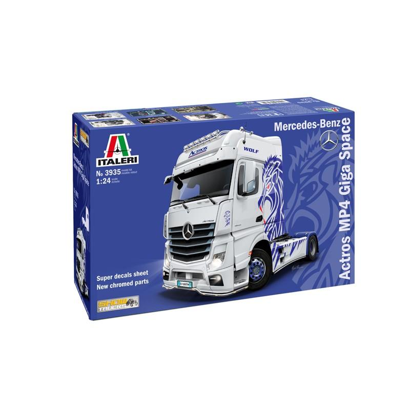 1/24 MERCEDES BENZ ACTROS MP4 Giga Space (Show Trucks) ΠΟΛΙΤΙΚΑ ΟΧΗΜΑΤΑ