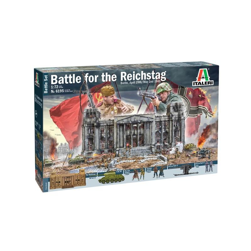 1/72 BATTLE OF THE REICHSTAG Berlin, April 29th - May 2nd 1945  BATTLE SET ΦΙΓΟΥΡΕΣ