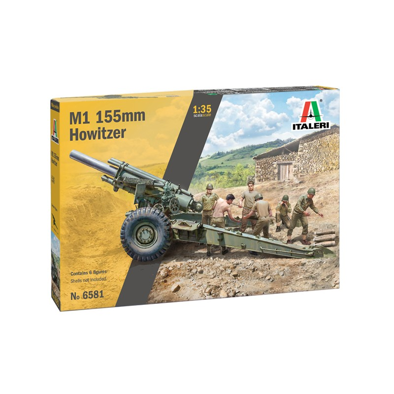 1/35 M1 155mm HOWITZER (6 Figures) ΣΤΡΑΤΙΩΤΙΚΑ ΟΧΗΜΑΤΑ - ΟΠΛΑ - ΑΞΕΣΟΥΑΡ