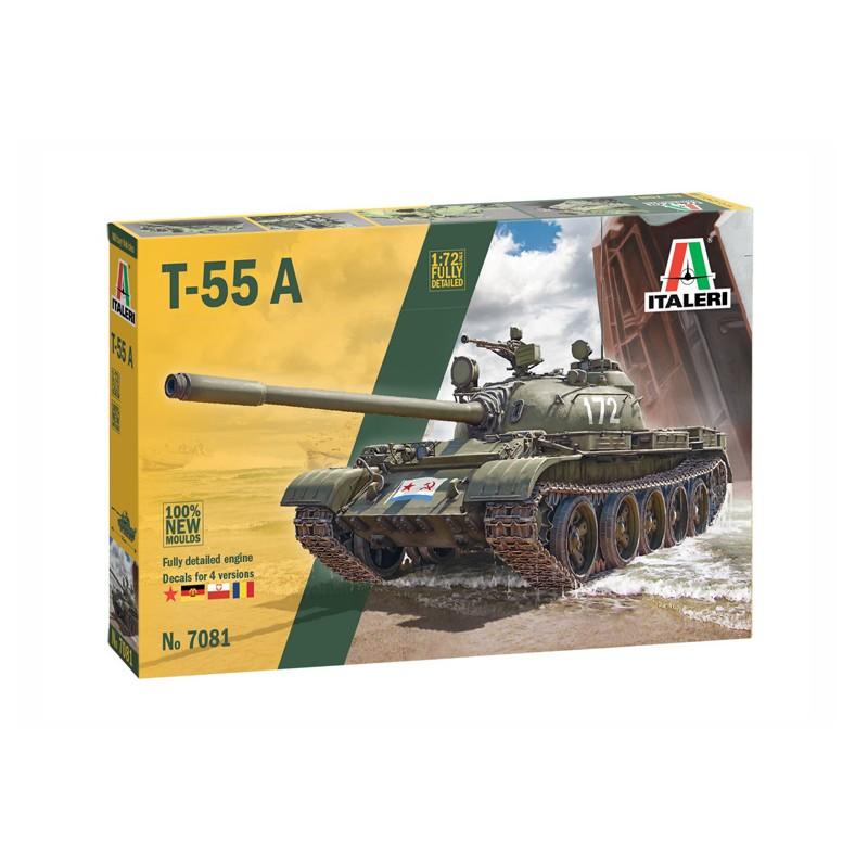 1/72 T-55A MAIN BATTLE TANK ΣΤΡΑΤΙΩΤΙΚΑ ΟΧΗΜΑΤΑ - ΟΠΛΑ - ΑΞΕΣΟΥΑΡ