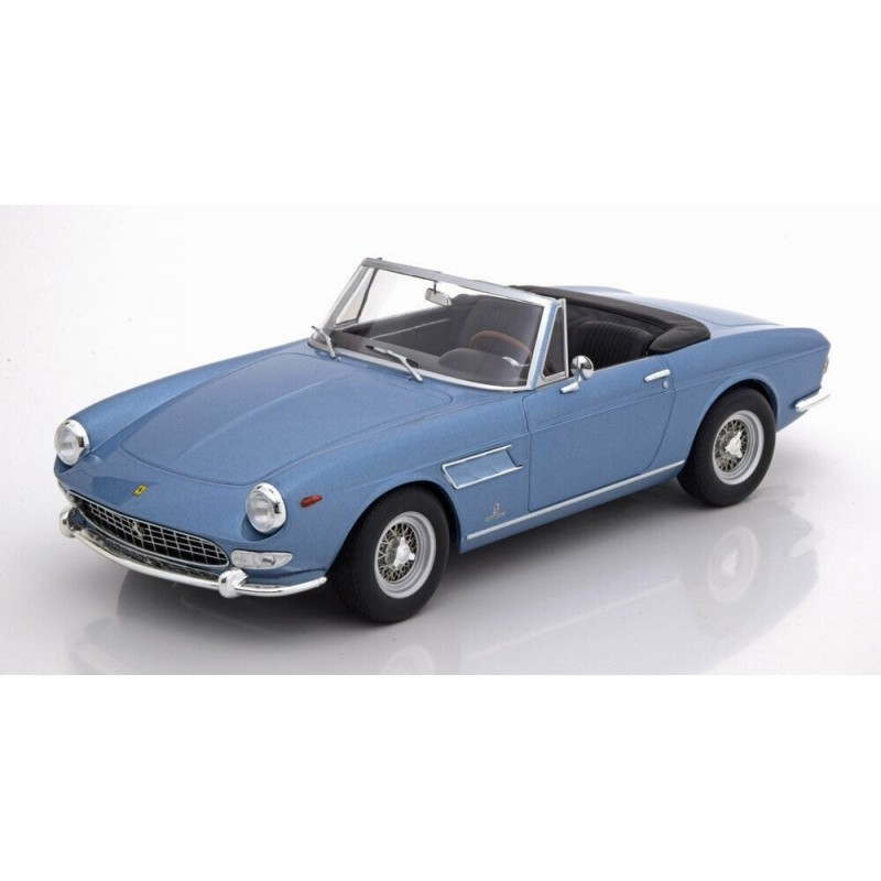 1/18 FERRARI 275 GTS PINIFARINA SPIDER 1964 LIGHT BLUE METALLIC (RESIN SEALED BODY) ΑΥΤΟΚΙΝΗΤΑ