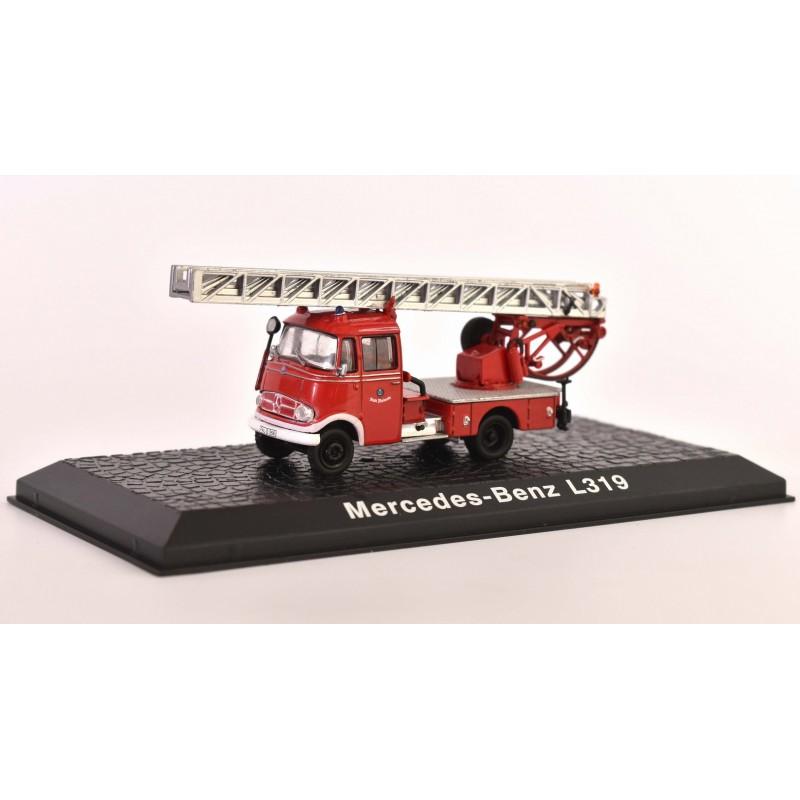 1/76 MERCEDES-BENZ L319 FIRE ENGINE ΦΟΡΤΗΓΑ - ΛΕΩΦΟΡΕΙΑ