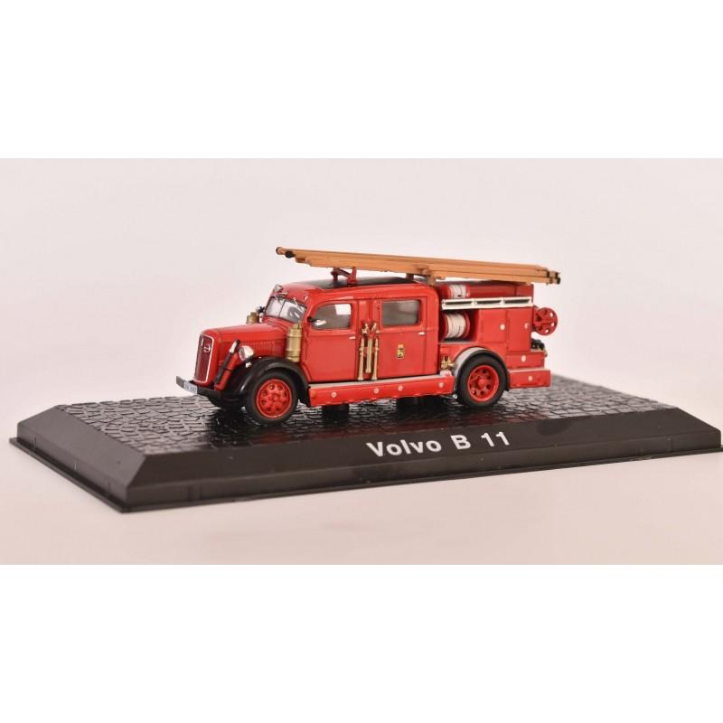 1/76 VOLVO B 11 FIRE ENGINE ΦΟΡΤΗΓΑ - ΛΕΩΦΟΡΕΙΑ