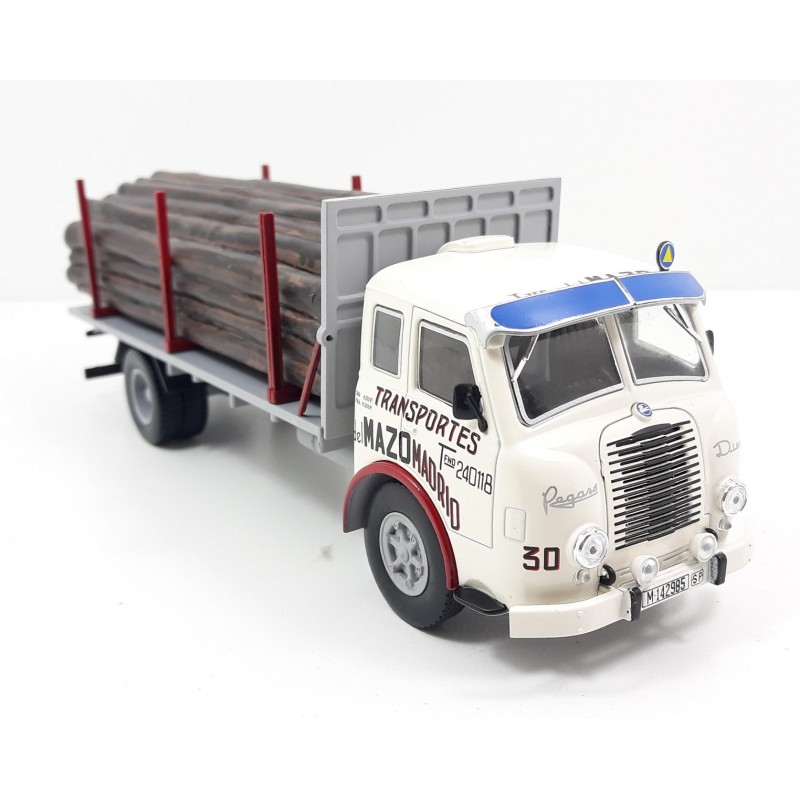 1/43 PEGASO II Z-202 DIESEL FORESTAL WOOD TRUCK 1956 WHITE/GREY ΦΟΡΤΗΓΑ - ΛΕΩΦΟΡΕΙΑ