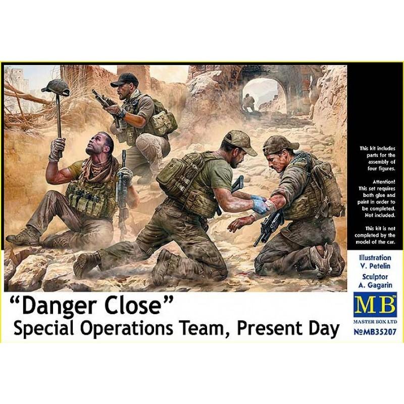 1/35 ''Danger Close'' Special Operations Team, Present Day ΦΙΓΟΥΡΕΣ