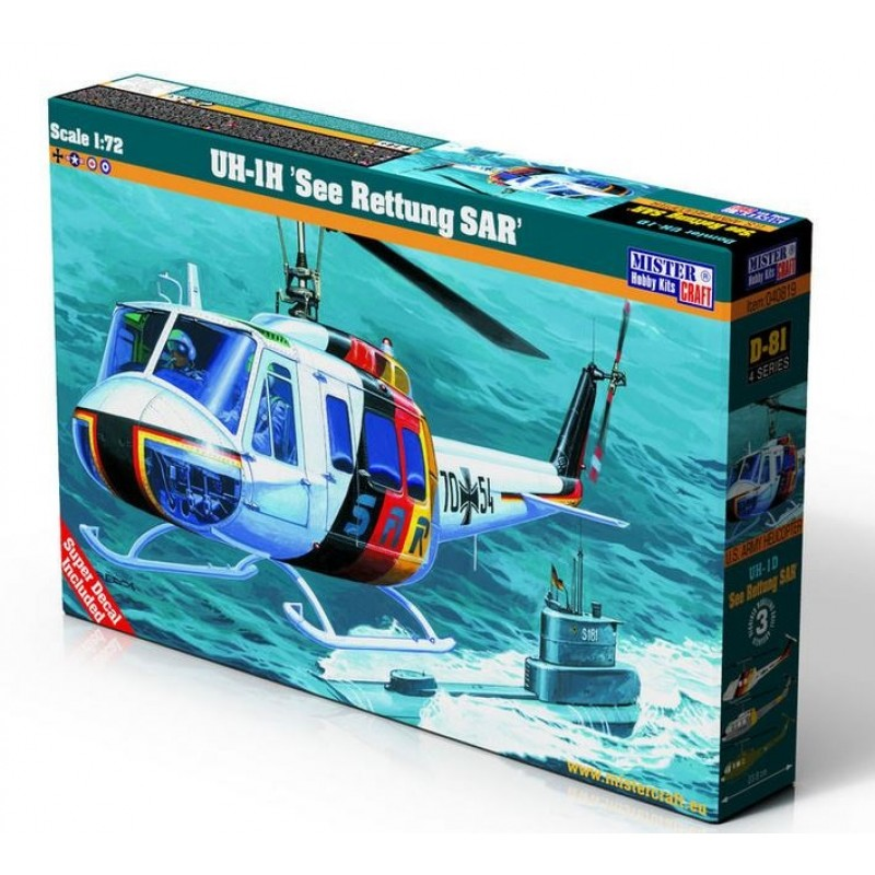 1/72 UH-1H ''See Rettung SAR'' (including Greek Decals) ΕΛΙΚΟΠΤΕΡΑ