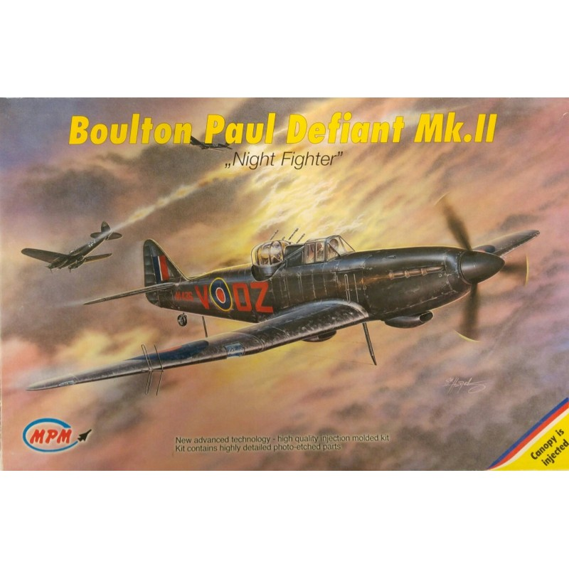 1/72 BOULTON PAUL DEFIANT Mk.II ''Night Fighter'' (with Photo-Etched Parts) ΑΕΡΟΠΛΑΝΑ