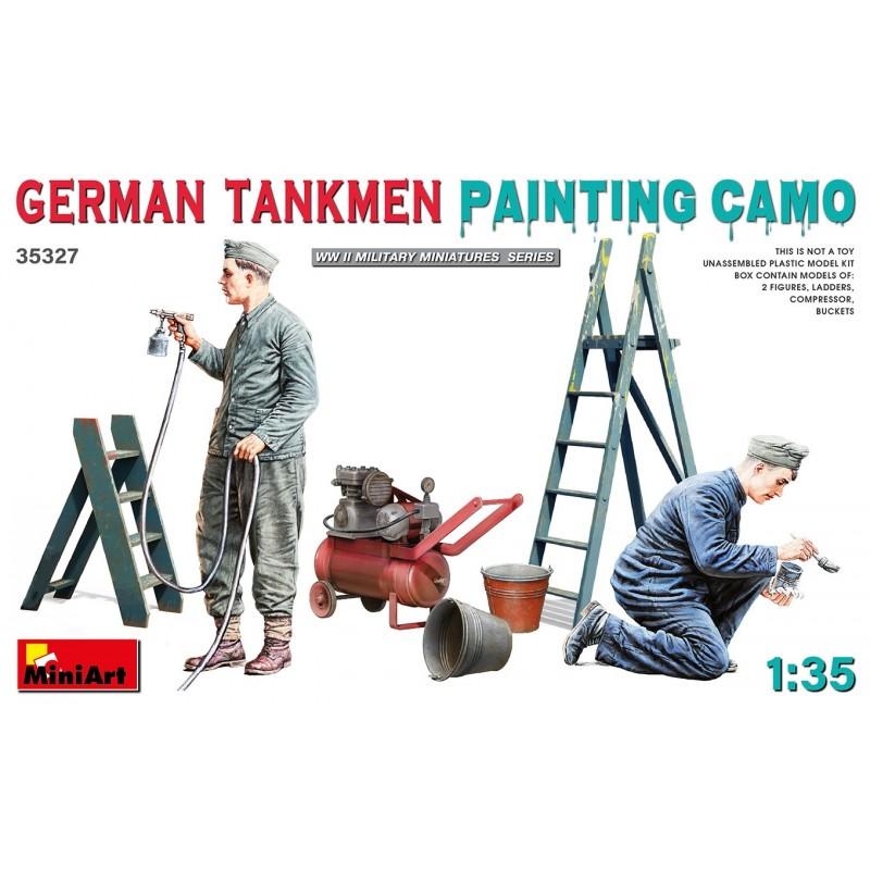 1/35 German Tankmen Painting Camo ΦΙΓΟΥΡΕΣ
