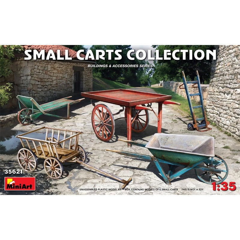 1/35 Small Carts Collection ΑΞΕΣΟΥΑΡ ΔΙΟΡΑΜΑΤΩΝ