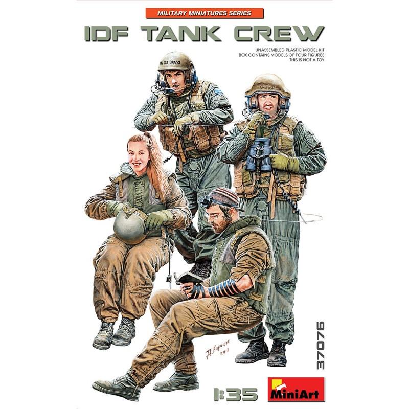 1/35 IDF Tank Crew ΦΙΓΟΥΡΕΣ