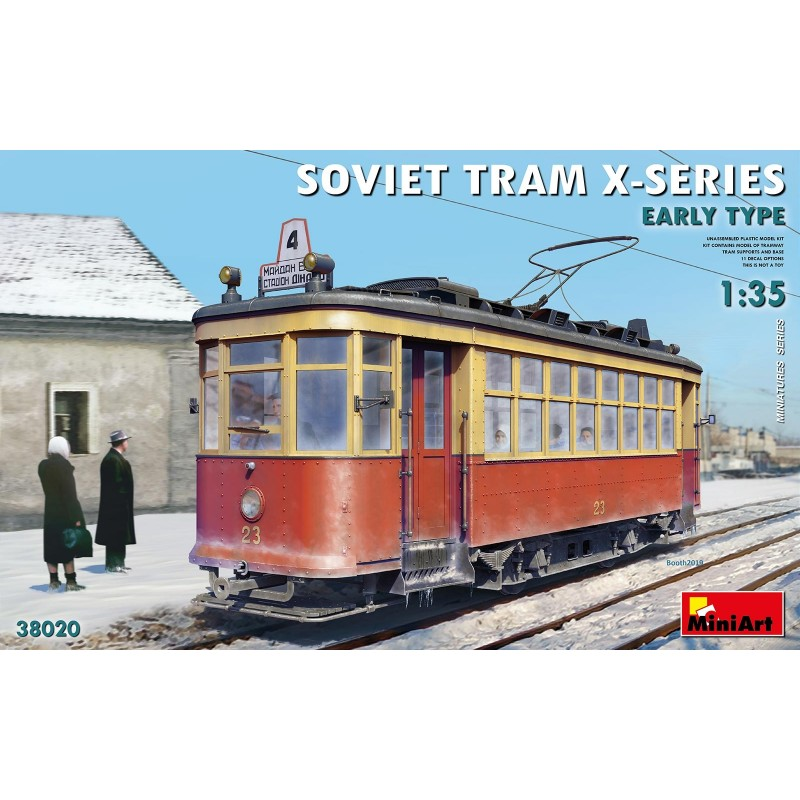 1/35 SOVIET TRAM X-SERIES EARLY TYPE ΔΙΑΦΟΡΑ KITS