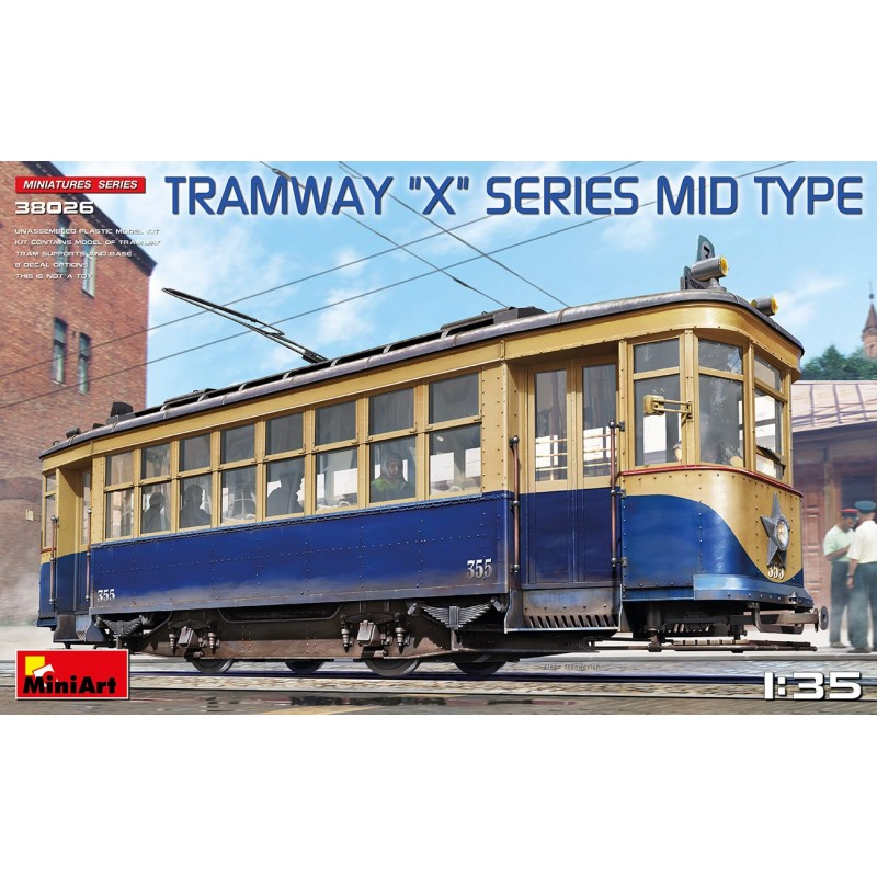 """1/35 Tramway """"X"""" Series Mid Type ΔΙΑΦΟΡΑ KITS"""