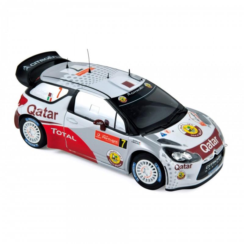 1/18 CITROEN DS3 WRC Nr.7 N. AL-ATTIYAH RALLY DE PORTUGAL 2012 ΑΥΤΟΚΙΝΗΤΑ