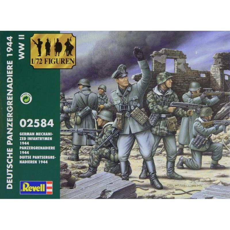 1/72 WWII GERMAN PANZERGRENADIERS 1944 ΦΙΓΟΥΡΕΣ