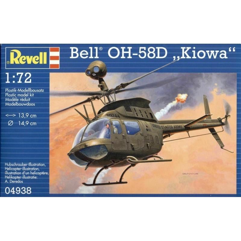 1/72 Bell OH-58D 'Kiowa' ΕΛΙΚΟΠΤΕΡΑ