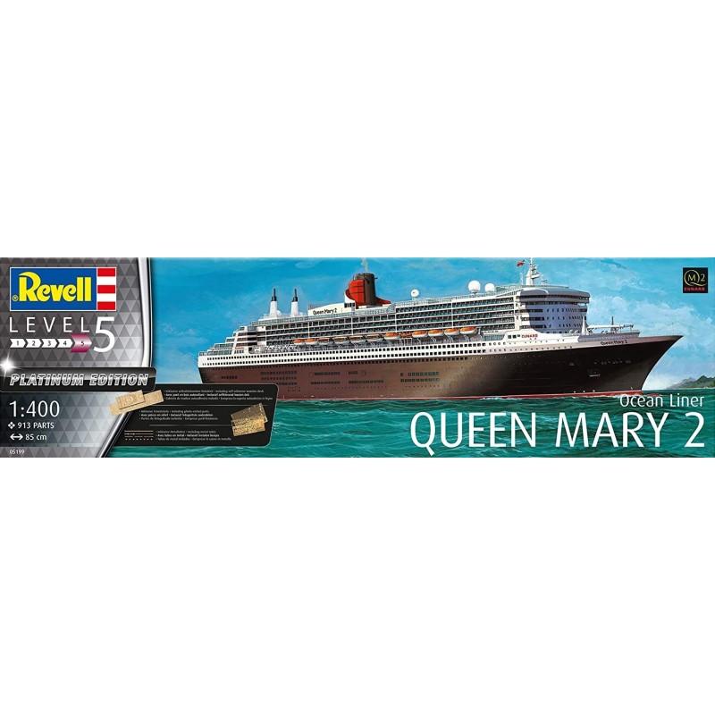 1/400 OCEAN LINER QUEEN MARY 2 (PLATINUM EDITION) ΠΛΟΙΑ