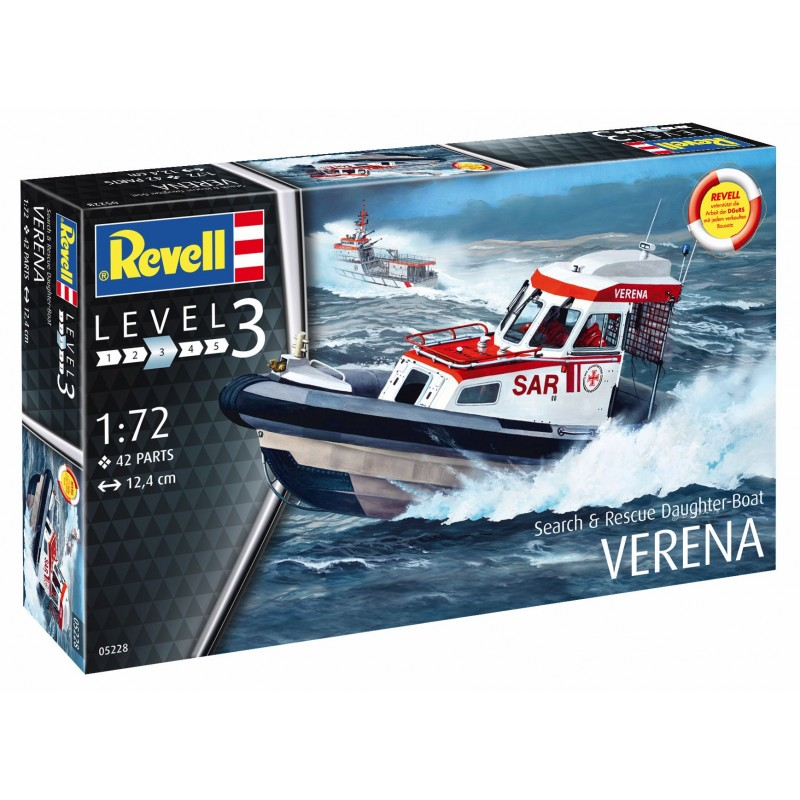 1/72 VERENA Search & Rescue Daughter-Boat ΠΛΟΙΑ