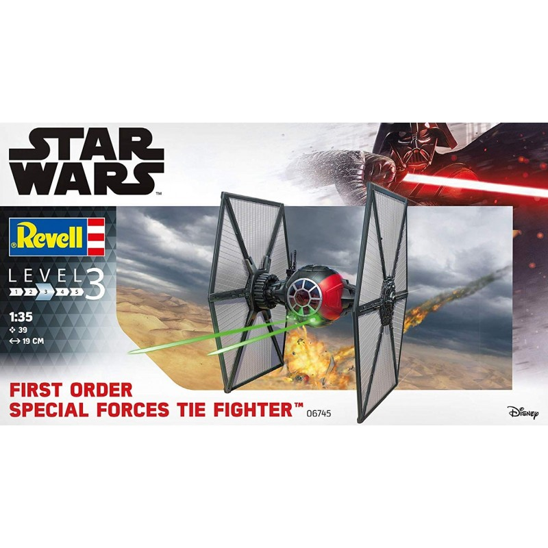 STAR WARS FIRST ORDER SPECIAL FORCES TIE FIGHTER STAR WARS - STAR TREK KITS