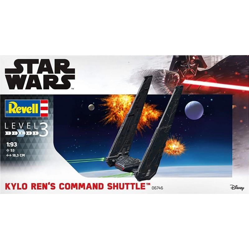 STAR WARS KYLO REN 'S COMMAND SHUTTLE STAR WARS - STAR TREK KITS