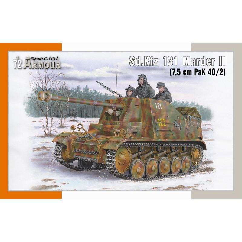 1/72 Sd.Kfz. 131 Marder II (7,5cm PaK 40/2) ΣΤΡΑΤΙΩΤΙΚΑ ΟΧΗΜΑΤΑ - ΟΠΛΑ - ΑΞΕΣΟΥΑΡ