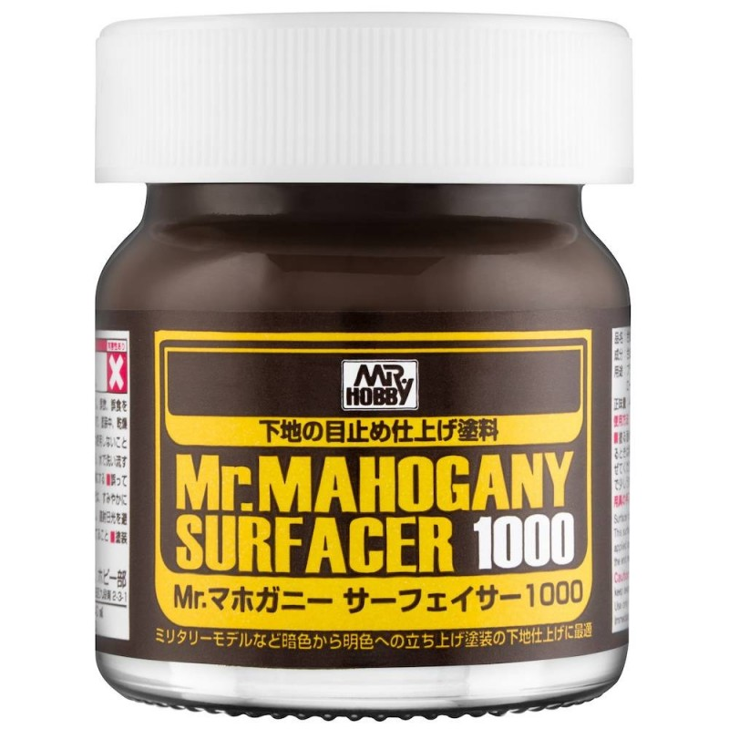 Mr. MAHOGANY SURFACER 1000 40ml ΣΤΟΚΟΙ