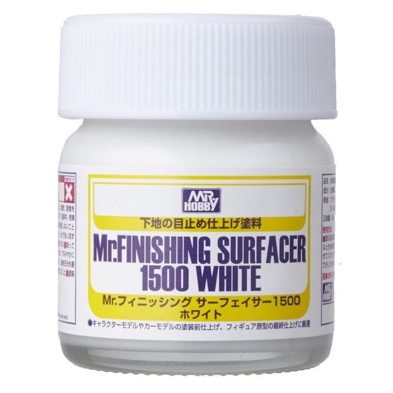 Mr. FINISHING SURFACER 1500 WHITE 40ml ΣΤΟΚΟΙ