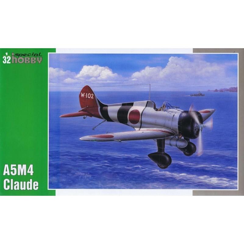 1/32 MITSUBISHI A5M4 CLAUDE (Hi-Tech Version with Resin Cockpit) ΑΕΡΟΠΛΑΝΑ
