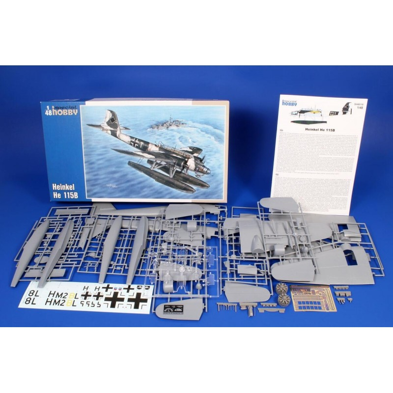 1/48 HEINKEL He 115B Floatplane (with Resin & Photo-Etched Parts) ΑΕΡΟΠΛΑΝΑ