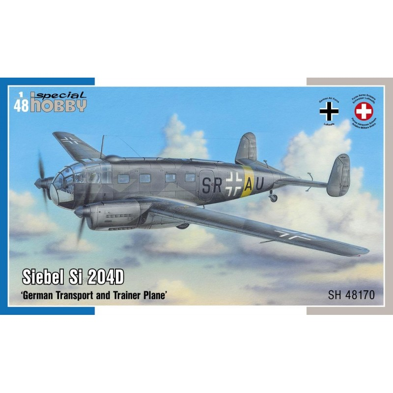 1/48 SIEBEL Si 204D ''German Transport and Trainer Plane'' ΑΕΡΟΠΛΑΝΑ