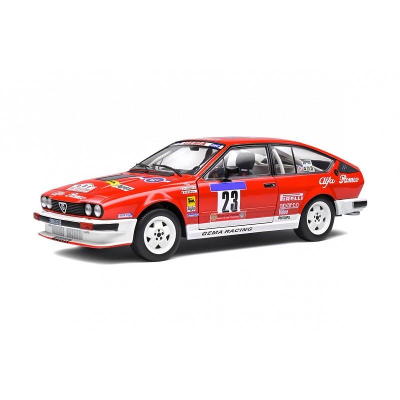 1/18 ALFA ROMEO ALFETTA GTV 6 Nr.23 Y.LOUBET/J-B.VIEU TOUR DE CORSE 1985 ΑΥΤΟΚΙΝΗΤΑ