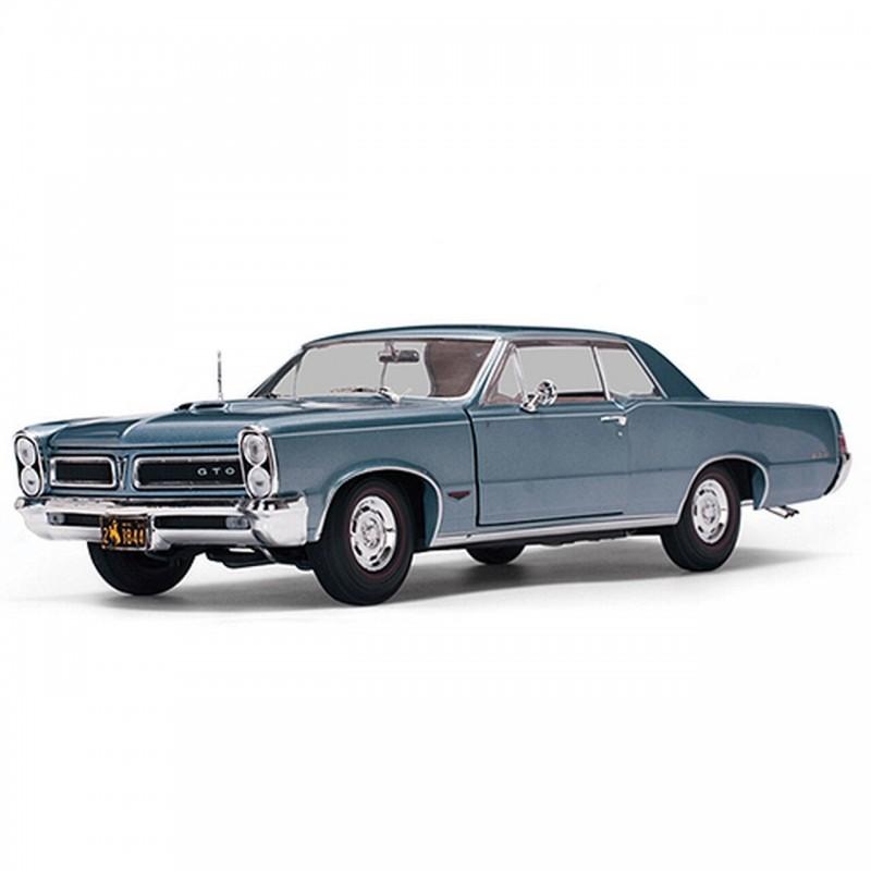 1/18 PONTIAC GTO 1965 BLUEMIST SLATE ΑΥΤΟΚΙΝΗΤΑ