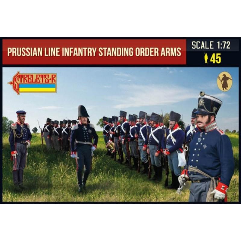 1/72 PRUSSIAN LINE INFANTRY STANDING ORDER ARMS (NAPOLEONIC) ΦΙΓΟΥΡΕΣ