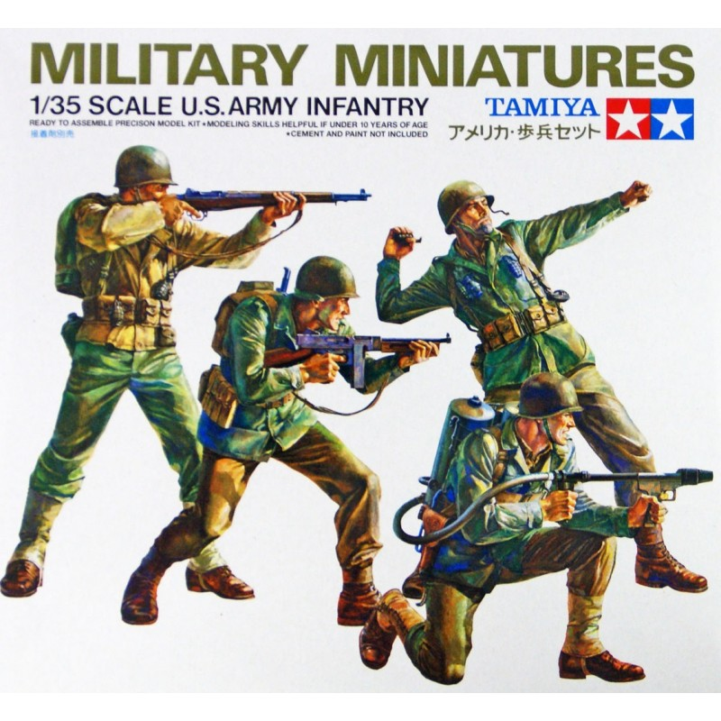 1/35 U.S. ARMY INFANTRY ΦΙΓΟΥΡΕΣ