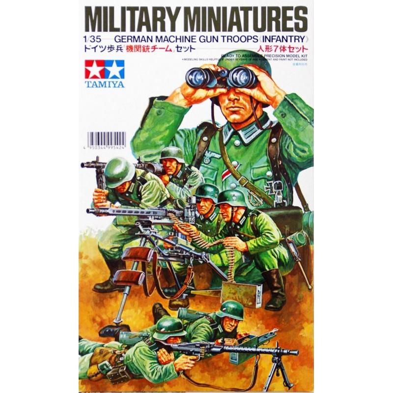 1/35 GERMAN MACHINE GUN TROOPS (INFANTRY) ΦΙΓΟΥΡΕΣ