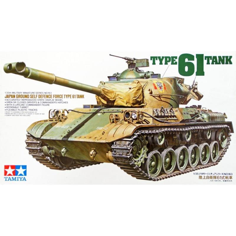 1/35 JAPAN GROUND SELF DEFENSE FORCE TYPE 61 TANK w/ 1 Figure ΣΤΡΑΤΙΩΤΙΚΑ ΟΧΗΜΑΤΑ - ΟΠΛΑ - ΑΞΕΣΟΥΑΡ