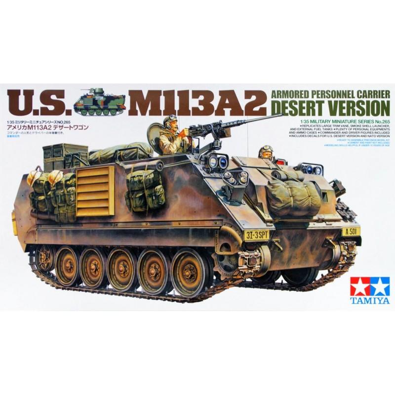 1/35 U.S. M113A2 ARMORED PERSONNEL CARRIER DESERT VERSION w/ 2 Figures ΣΤΡΑΤΙΩΤΙΚΑ ΟΧΗΜΑΤΑ - ΟΠΛΑ - ΑΞΕΣΟΥΑΡ