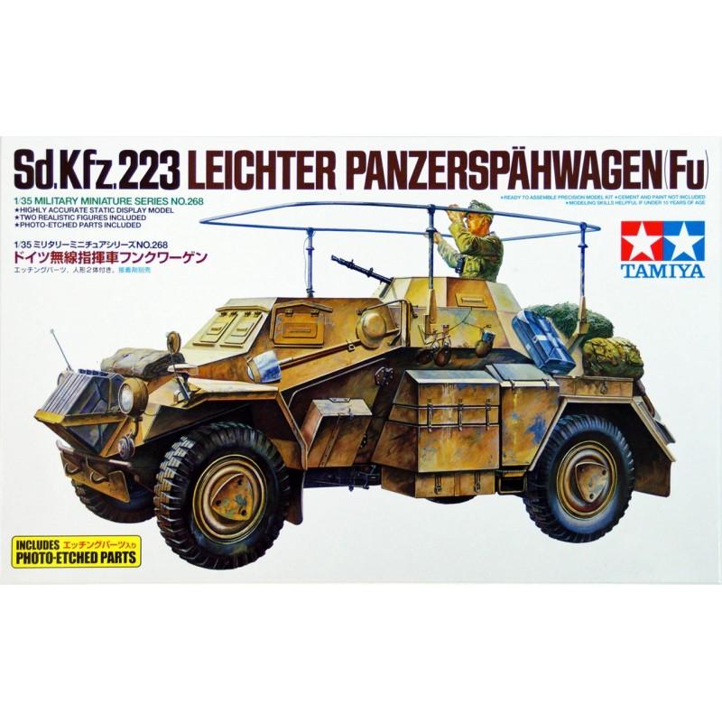 1/35 Sd.Kfz.223 LEICHTER PANZERSPAHWAGEN (FU) w/ 2 Figures (with Photo-Etched Parts) ΣΤΡΑΤΙΩΤΙΚΑ ΟΧΗΜΑΤΑ - ΟΠΛΑ - ΑΞΕΣΟΥΑΡ