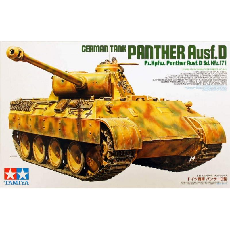1/35 GERMAN Pz.Kpfw. PANTHER Ausf.D  w/ 2 Figures ΣΤΡΑΤΙΩΤΙΚΑ ΟΧΗΜΑΤΑ - ΟΠΛΑ - ΑΞΕΣΟΥΑΡ