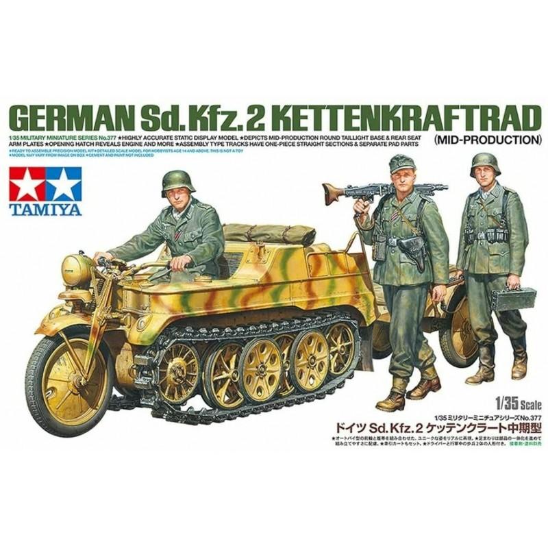 1/35 GERMAN Sd.Kfz.2 KETTENKRAFTRAD (Mid-Production) w/ 3 Figures ΣΤΡΑΤΙΩΤΙΚΑ ΟΧΗΜΑΤΑ - ΟΠΛΑ - ΑΞΕΣΟΥΑΡ