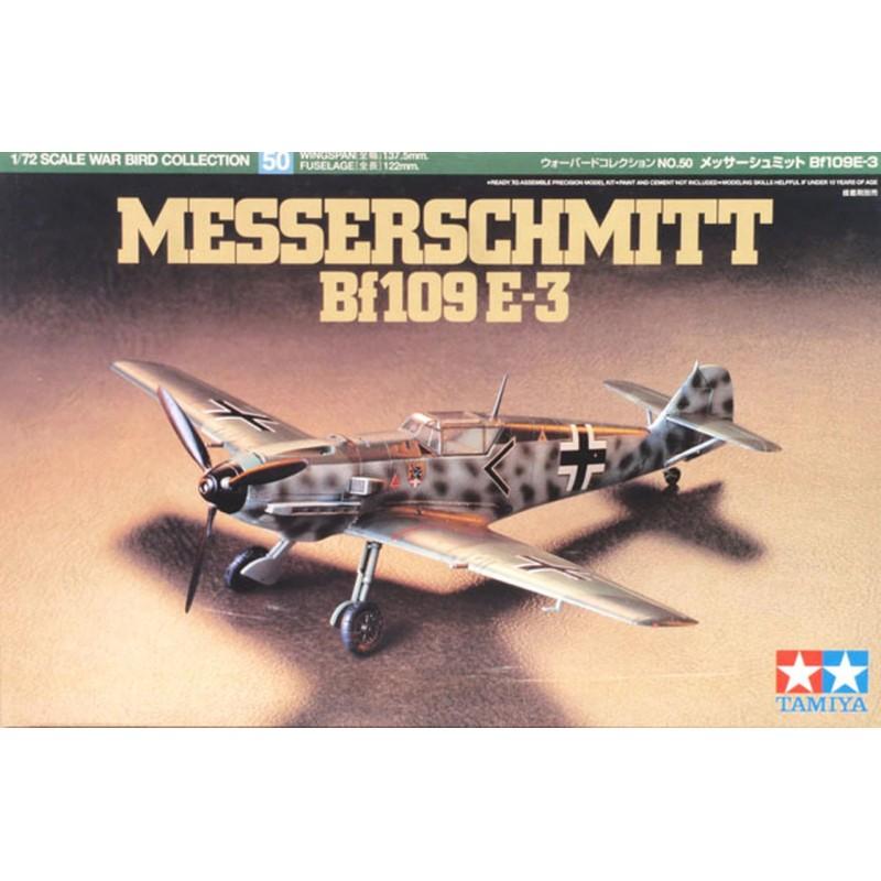 1/72 MESSERSCHMITT Bf109E-3 ΑΕΡΟΠΛΑΝΑ
