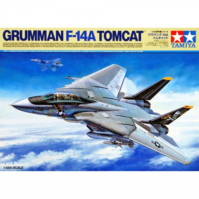1/48 GRUMMAN F-14A TOMCAT ΑΕΡΟΠΛΑΝΑ