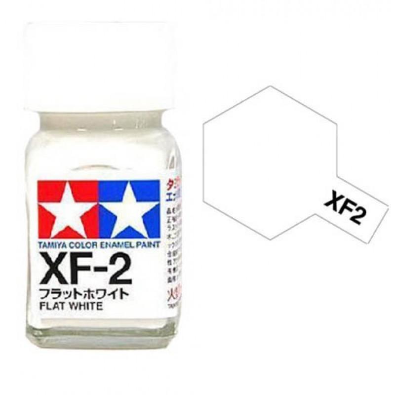 XF-2 WHITE - ENAMEL PAINT MINI (FLAT) 10ml ΣΜΑΛΤΑ