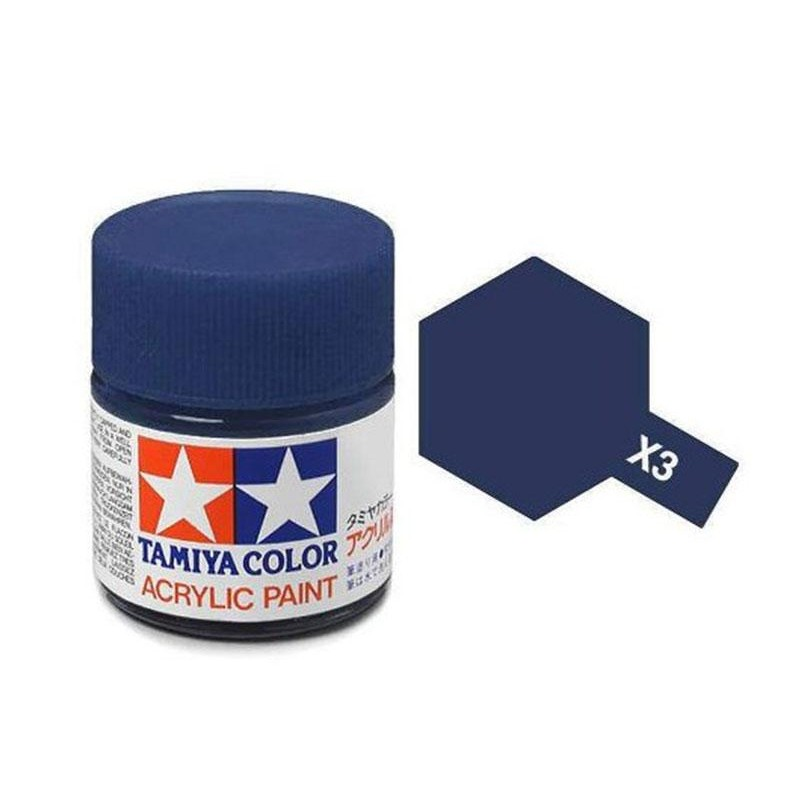 X-3 ROYAL BLUE - ACRYLIC PAINT MINI (GLOSS) 10ml GLOSS