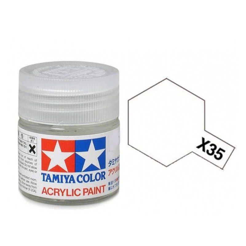X-35 CLEAR - ACRYLIC PAINT MINI (SEMI GLOSS) 10ml ΒΕΡΝΙΚΙΑ