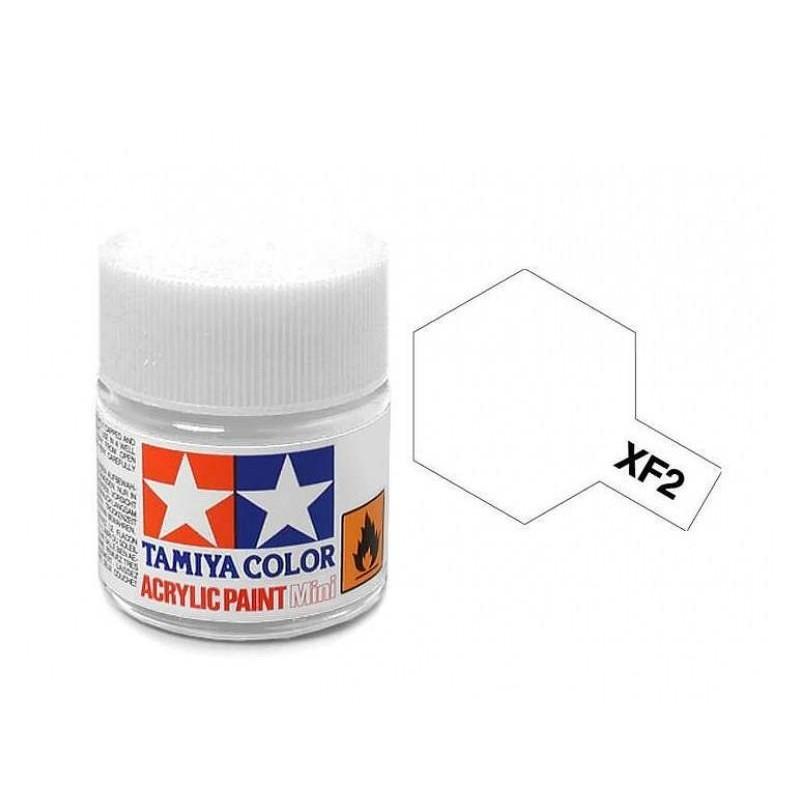 XF-2 WHITE - ACRYLIC PAINT MINI (FLAT) 10ml FLAT
