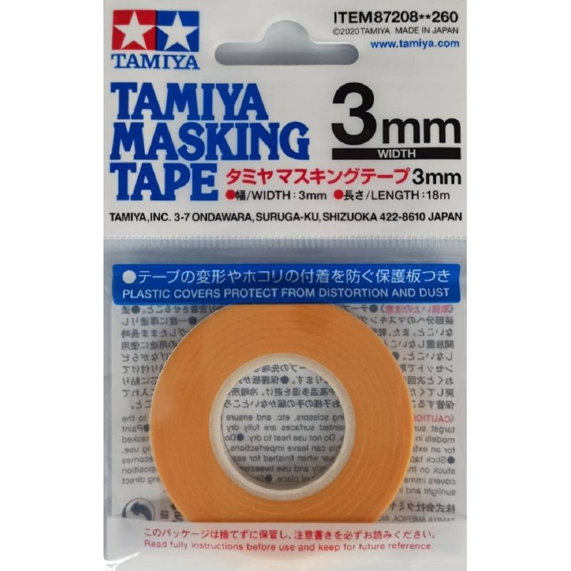 MASKING TAPE REFILL (3mm width x 18m length) ΥΛΙΚΑ ΜΑΣΚΑΡΙΣΜΑΤΟΣ