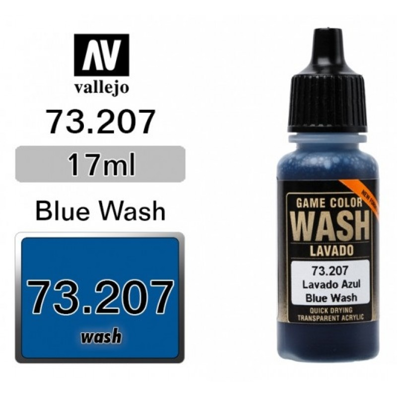 GAME COLOR BLUE (WASH) 17ml VALLEJO ΑΚΡΥΛΙΚΑ GAME COLOR