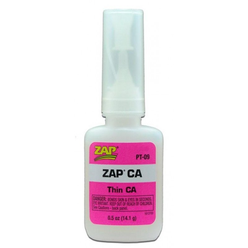ZAP THIN CA GLUE 0.5oz (14,1gr) ΚΟΛΛΕΣ